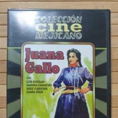 Cine: JUANA GALLO DVD -PRECINTADO-. Lote 179105405