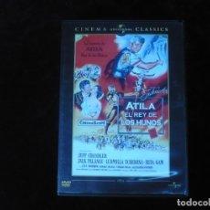 Cine: ATILA EL REY DE LOS HUNOS - DVD COMO NUEVO. Lote 179105648