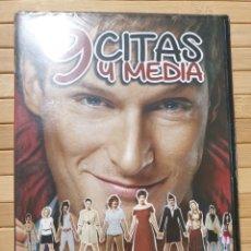 Cine: 9 CITAS Y MEDIA DVD -PRECINTADO-. Lote 179105861
