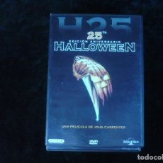 Cine: HALLOWEEN - EDICION 25 ANIVERSARIO CON 2 DISCOS - DVD COMO NUEVO. Lote 179105883