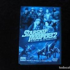 Cine: STARSHIP TROOPERS 2 EL HEROE DE LA FEDERACION - DVD COMO NUEVO. Lote 179106372