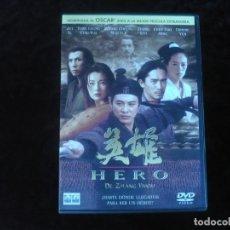 Cine: HERO DE ZHANG YIMOU - DVD COMO NUEVO. Lote 179106598