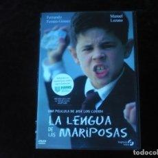 Cine: LA LENGUA DE LAS MARIPOSAS - CON FERNANDO FERNAN GOMEZ - DVD CASI COMO NUEVO. Lote 179106743
