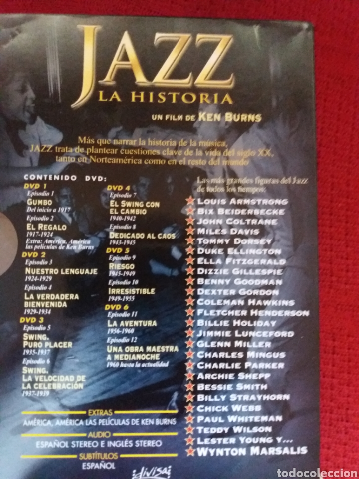Cine: JAZZ LA HISTORIA UN FILM DE KEN BURNS - Foto 4 - 179114377