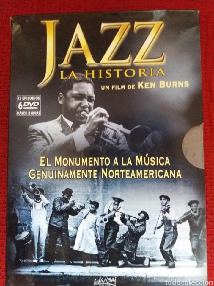 JAZZ LA HISTORIA UN FILM DE KEN BURNS (Cine - Películas - DVD)
