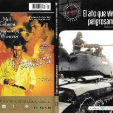 Cine: EL AÑO QUE VIVIMOS PELIGROSAMENTE - PETER WEIR. Lote 179115728