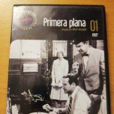 Cine: PRIMERA PLANA (DIRIGIDA POR BILLY WILDER) DVD. Lote 179160912