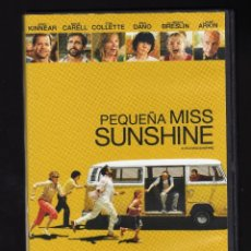 Cine: DVD: PEQUEÑA MISS SUNSHINE (LITTLE MISS SUNSHINE) - INT: GREG KINNEAR / STEVE CARELL / TONI COLLETTE. Lote 179170115