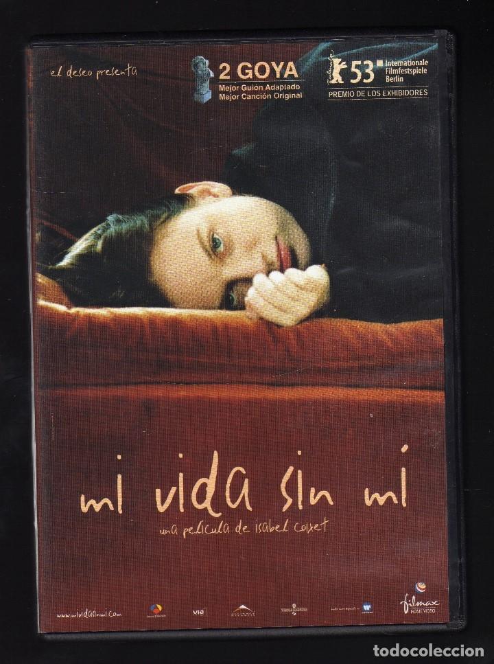 DVD: MI VIDA SIN MÍ - INT: LEONOR WATLING / DEBORAH HARRY / MARÍA DE MEDEIROS · DIR: ISABEL COIXET (Cine - Películas - DVD)