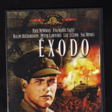 Cine: DVD: ÉXODO - INT: PAUL NEWMAN / EVA MARIE SAINT / RALPH RICHARDSON / PETER LAWFORD / LEE J.COBB . Lote 179175030