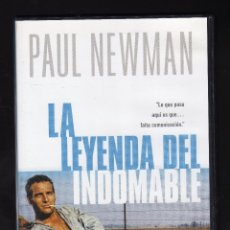 Cine: DVD: LA LEYENDA DEL INDOMABLE (INT: PAUL NEWMAN / GEORGE KENNEDY / J.D. CANNON / ROBERT DRIVAS). Lote 179176472