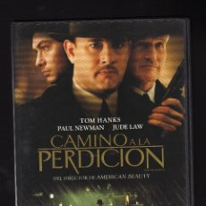 Cine: DVD: CAMINO A LA PERDICIÓN · INT: TOM HANKS / PAUL NEWMAN / JUDE LAW - DIR: SAM MENDES -. Lote 179188913