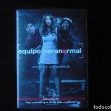Cine: EQUIPO PARANORMAL - DVD CASI COMO NUEVO. Lote 179188940