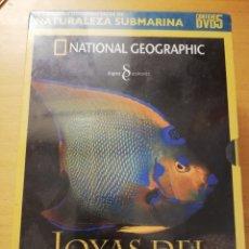 Cine: LOS MEJORES DOCUMENTALES DE NATURALEZA SUBMARINA (NATIONAL GEOGRAPHIC) CONTIENE 5 DVD PRECINTADOS. Lote 179204322