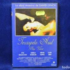 Cine: TERCIOPELO AZUL - DVD. Lote 179235042