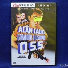 Cine: O.S.S. - ALAN LADO , GERALDINE FITZGERALD - DVD. Lote 179236607