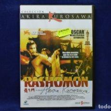 Cine: RASHOMON - DVD AKIRA KUROSAWA . Lote 179237150