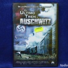Cine: EL ULTIMO TREN A AUSCHWITZ - DVD. Lote 179237888