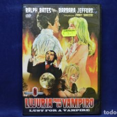 Cine: LUJURIA PARA UN VAMPIRO - DVD. Lote 179238205
