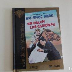 Cine: DVD EL PAIS CINE DE ORO UN DÍA EN LAS CARRERAS MÁS DE 1000 DVDS EN VENTA APROVECHA EL ENVÍO. Lote 179238352