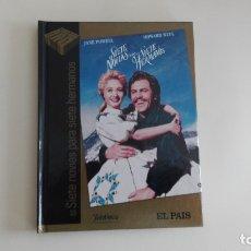 Cine: DVD EL PAIS CINE DE ORO SIETE NOVIAS PARA SIETE HERMANOS MÁS DE 1000 DVDS EN VENTA . Lote 179238490