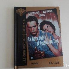 Cine: DVD EL PAIS CINE DE ORO LA GATA SOBRE EL TEJADO DE ZINC HERMANOS MÁS DE 1000 DVDS EN VENTA . Lote 179238610