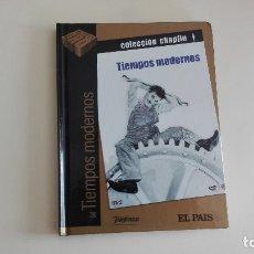 Cine: DVD EL PAIS CINE DE ORO TIEMPOS MODERNOS CHAPLIN HERMANOS MÁS DE 1000 DVDS EN VENTA . Lote 179238695
