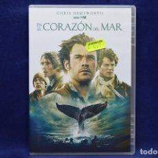 Cine: EN EL CORAZON DEL MAR - DVD. Lote 179238833
