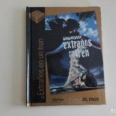 Cine: DVD EL PAIS CINE DE ORO EXTRAÑOS EN UN TREN MÁS DE 1000 DVDS EN VENTA APROVECHA EL ENVÍO. Lote 179238968