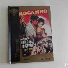 Cine: DVD EL PAIS CINE DE ORO MOGAMBO MÁS DE 1000 DVDS EN VENTA APROVECHA EL ENVÍO. Lote 179239120