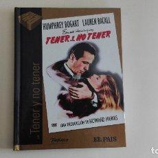 Cine: DVD EL PAIS CINE DE ORO TENER Y NO TENER MÁS DE 1000 DVDS EN VENTA APROVECHA EL ENVÍO. Lote 179239321
