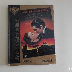 Cine: DVD EL PAIS CINE DE ORO LO QUE EL VIENTO SE LLEVÓ MÁS DE 1000 DVDS EN VENTA APROVECHA EL ENVÍO. Lote 179239737