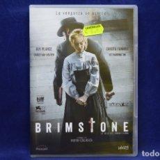 Cine: BRIMSTONE - DVD. Lote 179241722