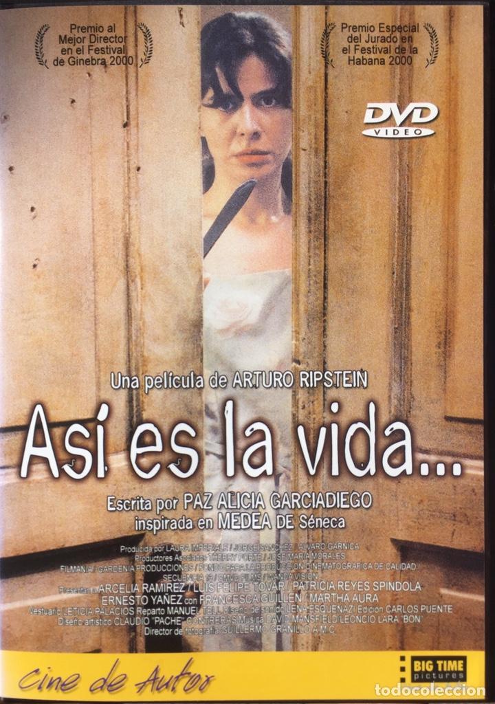 ASÍ ES LA VIDA DVD ARTURO RIPSTEIN (Cine - Películas - DVD)