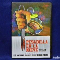 Cine: PESADILLA EN LA NIEVE - DVD. Lote 179253391
