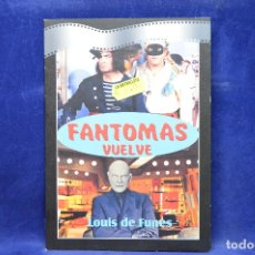 Cine: FANTOMAS VUELVE - DVD. Lote 179255208