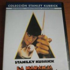 Cine: DVD LA NARANJA MECÁNICA (1971) DE STANLEY KUBRICK. CON MALCOLM MCDOWELL. COMO NUEVA. Lote 179256982
