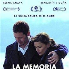 Cine: LA MEMORIA DEL AGUA DIRECTOR: MATÍAS BIZE ACTORES:ELENA ANAYA, BENJAMÍN VICUÑA, NÉSTOR CANTILLANA. Lote 179314040