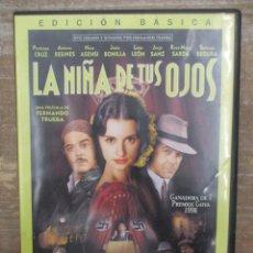 Cine: DVD - LA NIÑA DE TUS OJOS - PEDIDO MINIMO 4 PELICULAS O PEDIDO MINIMO DE 10€. Lote 179318585