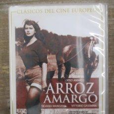 Cine: DVD - ARROZ AMARGO / - PEDIDO MINIMO 4 PELICULAS O PEDIDO MINIMO DE 10€. Lote 179319331