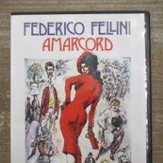 Cine: DVD - AMACORD - PEDIDO MINIMO 4 PELICULAS O PEDIDO MINIMO DE 10€. Lote 179321625