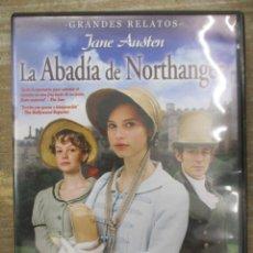 Cine: DVD - LA ABADIA DE NORTHANGER / JANE AUSTEN - PEDIDO MINIMO 4 PELICULAS O PEDIDO MINIMO DE 10€. Lote 179321986