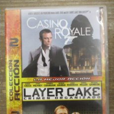 Cine: DVD - CASINO ROYALE / LAYER CAKE / DANEIL CRAIG - PEDIDO MINIMO 4 PELICULAS O PEDIDO MINIMO DE 10€. Lote 179322507