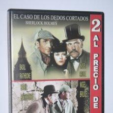 Cine: VESTIDA PARA MATAR + EL CASO DE LOS DEDOS CORTADOS *** DVD CINE SUSPENSE *** PRECINTADO. Lote 179323273