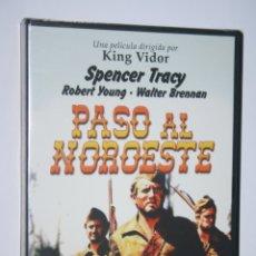 Cine: PASO AL NOROESTE (SPENCER TRACY, ROBERT YOUNG *** DVD CINE WESTERN *** PRECINTADO ***. Lote 179323867