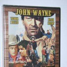 Cine: EL LARGO CAMINO (JOHN WAYNE, VERNA HILLIE, NOAH BEERY) *** DVD CINE WESTERN *** PRECINTADO ***. Lote 179324363