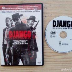 Cine: DJANGO - DESENCADENADO DVD. Lote 179382788