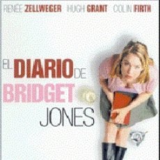 Cine: EL DIARIO DE BRIDGET JONES DIRECTOR: SHARON MAGUIRE ACTORES: RENEE ZELLWEGER, HUGH GRANT, COLIN FI. Lote 179389595
