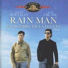 Cine: RAIN MAN. EL HOMBRE DE LA LLUVIA DIRECTOR: BARRY LEVINSON ACTORES: DUSTIN HOFFMAN, TOM CRUISE. Lote 179389645