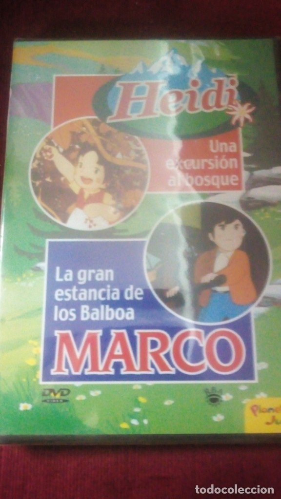 HEIDI Y MARCO Nº28 (Cine - Películas - DVD)